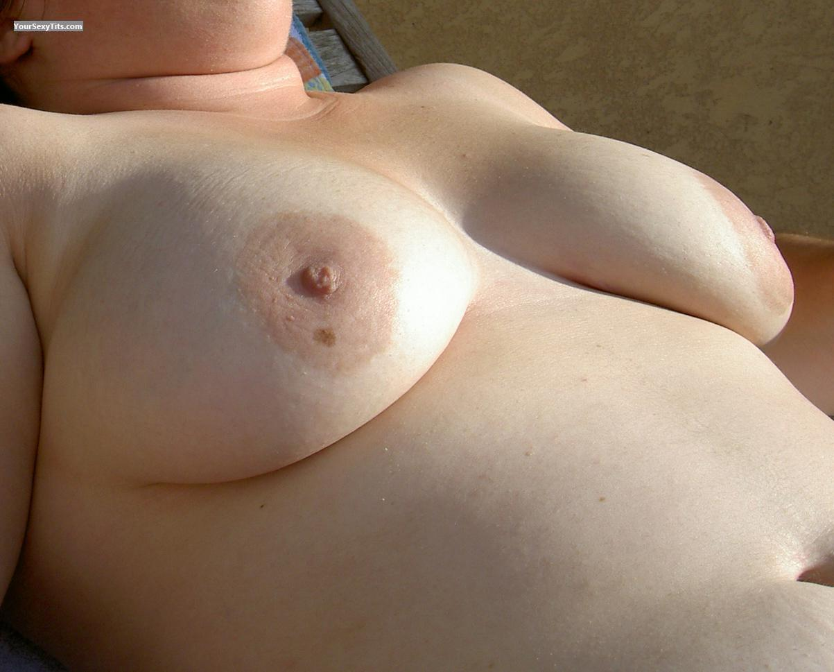 Tit Flash: Big Tits - Sofie from Belgium